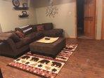 Downstairs - TV room w/ foosball table