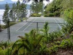 Your own private tennis court