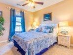 Queen Bedroom - now has new flooring - no carpet