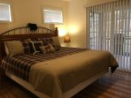 Relax in your hybrid king size bed and watch smart tv.