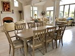 Lots of living space in the open dining room and great room!