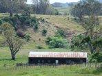 View over surrounding farm land