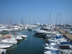 la Napoule habour . Take a ferry to the Isles des Lerins fffor a picnic or down the coast.