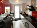 Brand New Kitchen with wash & Dishwash m/c fully equipped for a quality holiday! water softener tap!