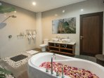 Ensuite bathroom for Master bedroom, with full size bath