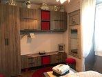 Suite familiale :  dressing chambre la petite gourmande