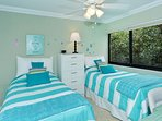 Two Twin Beds in Guest Bedroom
