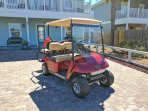 Complimentary Street   Golf Cart Included!