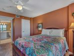 2nd Bedroom - Queen - with Full Private Bathroom