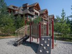 The little ones will love playing in the play area