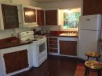 Guests love our old-  fashioned kitchen with all the amenities..