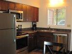 Beautiful modern stainless functional kitchen