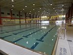 Indoor swimming pool at RSP