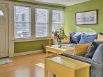 Vibrant colors and nautical decor welcome you as you enter your Seaside Heights home!