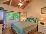 Located on each side of the home, each bedroom has ample privacy!