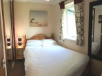 This is the double bedroom,centrally heated with double glazed window.