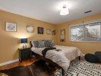 Second Bedroom. Queen Size, High End Sealy Mattress with Ralph Lauren Linens.