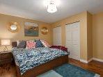 Master Bedroom. King Size, High-End Kingsdown Mattress with Ralph Lauren Linens.