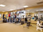 Fitness centre in nearby sister resort for your use