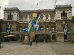 Royal Academy of Art on Piccadilly hosts world-class art exhibitions throughout the year.