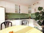 Kitchen 1, Surface: 3 m²