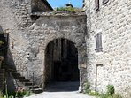 The entrance to our small 11th century village
