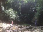 Castara waterfall & Pool-Its a perfect place to cool off on a hot day!