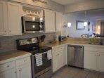 Condo 102  Kitchen Stylish and Modern