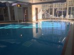 Steadings indoor pool - payable locally per session or temp membership