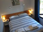 Cozy bedroom - bed linen and towels included