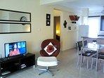 Apt 21 Lounge to Bedroom