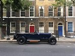 The handsome streets around Bloomsbury  attract people who like classic buildings and cars to match.