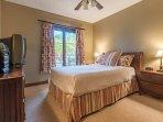 The Master En Suite Features One Queen Bed