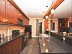 Clean and Fully Equipped Kitchen Comes with Granite Counters