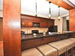 Kitchen Offer Breakfast Bar and Stool