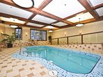 Relax in the Indoor Swimming Pool