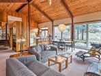 Retreat to this charming 4-bedroom, 3-bath vacation rental house in Wellfleet for a peaceful getaway.