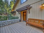 Upon your arrival, you'll be blown away by the beautiful outdoor features like the river stone walls and Trex deck.