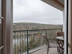 View of Table Rock Lake from the master suite one.