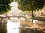 Bourton-on-the-Water is known locally as the Venice of the Cotswolds