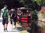 Llangollen -Horse drawn canal trips, beautiful green hills and valleys, UNESCO heritage site closeby