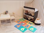 Second floor bedroom childrens play corner