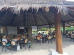 The Palapa restaurant in the pool area (one of 2 on-site restaurants)