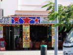 The famous Star Bar plus  many other bars, restaurants and shops   right outside the complex