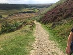 Hole of Horcum on the North York Moors