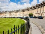 Walk in the footsteps of Jane Austen through the splendid Georgian streets leading to the Crescent