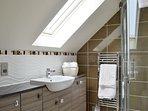 Master bedroom ensuite shower room and underfloor heating