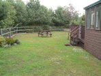 Fully enclosed garden, perfect for families and surrounded by lovely wildlife.