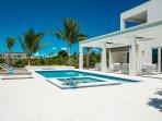 Brand new nearly beachfront 4 bedroom villa