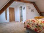 Upstairs bedroom and ensuite